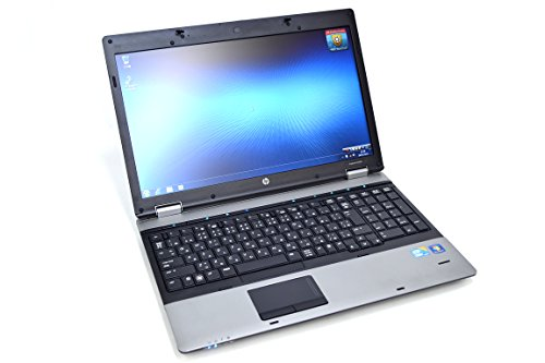 HP ProBook 6550B 15.6 Inch Business Laptop, Intel Core i5-520M up to 2.93GHz, 4G DDR3, 320G, DVDRW, WiFi, VGA, DP, Windows 10 Pro 64 Bit Multi-Language Support English/French/Spanish(Renewed)