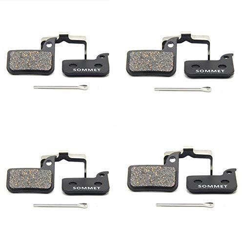 4 Pares SOMMET Pastillas Freno Disco Semi-metálico para SRAM HRD Rival Red...