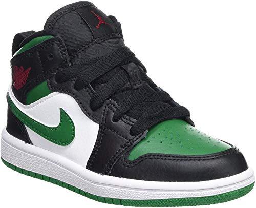 NIKE Jordan 1 Mid (PS), Zapatillas de básquetbol para Niños
