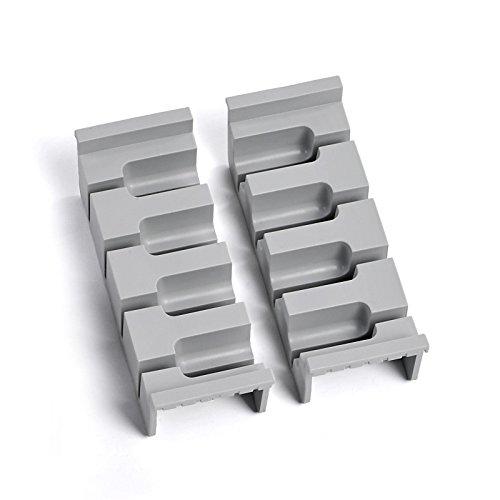 SO-TECH® Cuisio Messereinsatz Messerhalter   für 150er Schale   hellgrau
