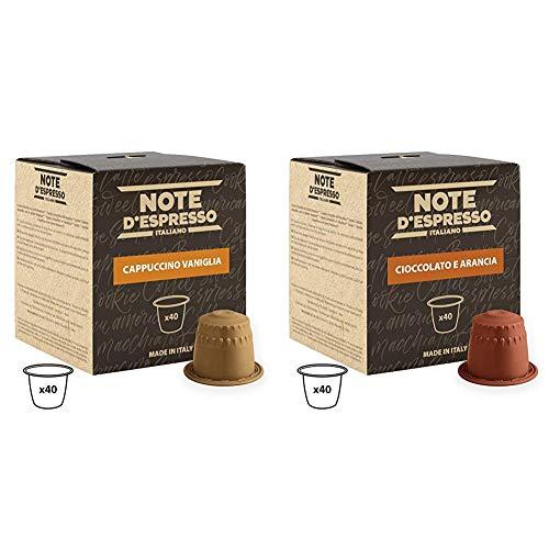 Note D'Espresso - Cápsulas de capuchino de vainilla instant