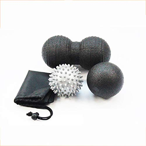 Great Deal! Release Massage Ball Set Yoga Roller Spike Back Hand Sensory Peanut Balls Training Fitne...