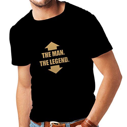 lepni.me Mannen T-shirt The Man and The Legend Adult Humor Joke