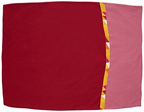Essix x Bensimon - Taie d'oreiller Toi & Moi Géo Percale de Coton Rose 50 x 75 cm