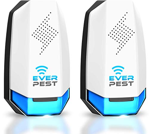 Pest Control Ultrasonic Pest Control- Eco-Friendly Electronic Waves Ultrasonic Pest Repeller Indoor Plug in Repellent for Mice Rats Cockroaches Ants 2 Pack