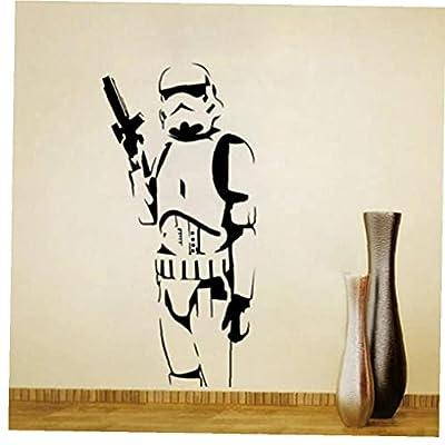 Froiny Home Decor Stormtrooper Wall Sticker Vinyl Decal Kids Bedroom Decor Art Mural