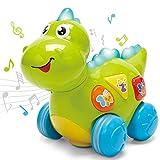CubicFun Dinosaurios Juguetes Bebes 1 año Juguetes Musicales con Luz Juguetes Cognitivos Educativos Tempranos Juguetes Bebe 6 Meses Juguetes para Niños 1 2 años