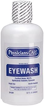 Spill Magic First Aid Only PhysiciansCare Eye Wash 32 Ounce Bottle