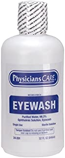 First Aid Only PhysiciansCare Eye Wash 32 Ounce Bottle (24-201)