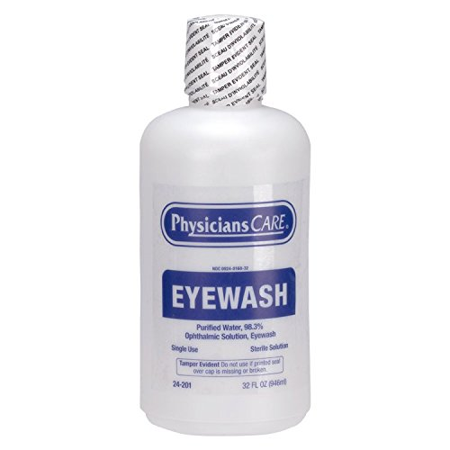 PhysiciansCare by First Aid Only 24-201 Eye Wash Solution, 32 ounce Bottle