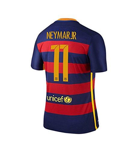 Nike NEYMAR JR. #11 FC Barcelona Heim Trikot 2015/2016 Jugend (US-Größe) (US size-Y_YM)