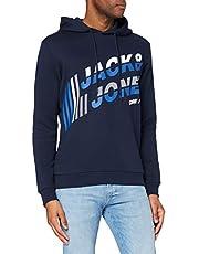 Jack & Jones Jcoalpha Sweat Hood FST Sweatshirt Capuche Homme