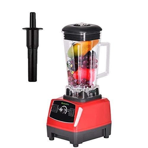 SZJJI Smoothie Mixer mit 2L BPA-freier Tritan-Kanne, professioneller Hochgeschwindigkeits-Saftpresse für gewerbliche Standmixer-Mixer-Saftpresse