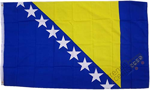 Bosnien-Herzegowina Flagge Großformat 250 x 150 cm wetterfest Fahne
