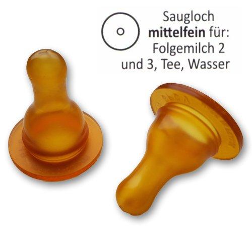 Goldi Standard Naturform Flaschensauger (ab 6 Monate)