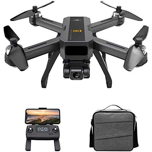 MRSDBTL Drone GPS para Adultos, 5G WiFi FPV Drone con cámara 4K, cuadricóptero RC de posicionamiento de Flujo óptico con Motor sin escobillas, estabilización electrónica de Imagen, Sígueme,1 Battery