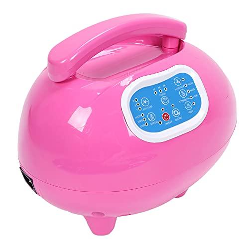 Elektrische Badewannen-Sprudel-Massage-Matte, Wasserdichtes Wannen-Massage-Spa, Ganzkörper-Sprudelbad Thermisches Massagegerät mit Luftschlauch, Einstellbare Blase, mit Wärme(EU-Stecker)
