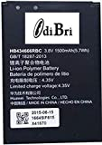 diBri Compatible Battery for Airtel Huawei Vodafon 4G Hotspot Router E5573S / E5573CS / {Part NO} HB434666RBC Excellent Backup Performance|100% Satisfaction|100% Brand New|Express Shipping|Best Price Light Weight And Optimum performance Compact desig...