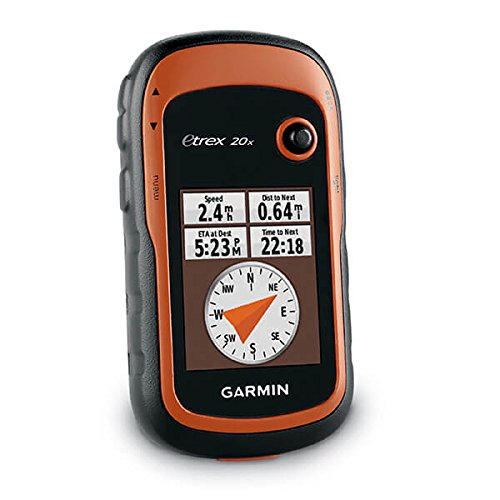 Garmin eTrex 20x, Handheld GPS Navigator, Enhanced Memory and Resolution, 2.2-inch Color Display, Water Resistant
