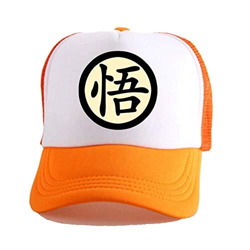 CAR-TOBBY Dragon Ball Z Gorra de Béisbol Son Goku Anime Dragon Bola Unisex Ajustable Papá Sombrero