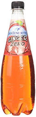 San Benedetto Bibita Analcolica Ginger, Zero Zuccheri Aggiunti- 750 ml
