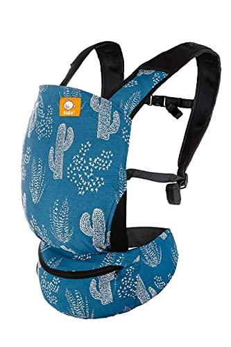 Tula Lite marsupio porta bebe e borsa, marsupio da viaggio ergonomico, leggero e ultracompatto, per la pancia e schiena (Ocotillo)