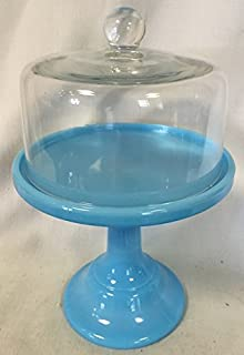 Plain & Simple Bakery Cake Plate Stand with Cake Dome - Mosser Glass (10