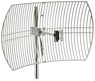 Premiertek ANT-GRID-24dBi Outdoor 2.4GHz 24dBi Directional High-Gain N-Type Female Aluminum Die Cast Grid Antenna