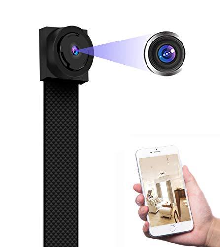 Versteckte Überwachungs Spionage Klein Kamera – 13 Stunden Lange Video Aufnahme Mini Full HD 1080P 4K Tragbare Kann Zusammengebaut Werden Bewegungserkennung Kameras