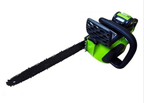 Gowe Désir 40 V 4000 mAh électrique sans fil tronçonneuse Brosse/bois Cutter batterie tronçonneuse