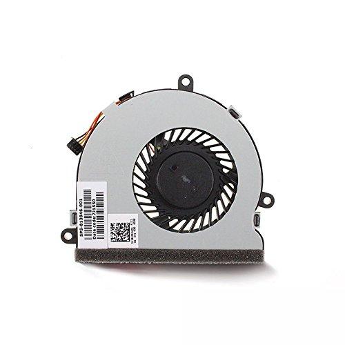 Ventilador de refrigeración de CPU para HP 15-BS012CA 15-BS012CY 15-BS012DS 15-BS013CY 15-BS013DS 15-BS013DX 15-BS014CY 15-BS015CY 15-BS016CY 15-BS016DX 15-BS017CA 15-BS017CY 15-BS018CY 15-BS018CY