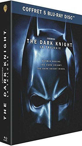 The Dark Knight - La trilogie - Coffret Blu-ray - DC COMICS