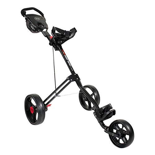 Masters 5 Series 3-Rad-Golftrolley, schwarz