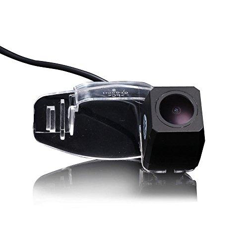 kalakus Super Star Light Pro HD voiture caméra de recul aide au stationnement améliorée avec 8IR Vision nocturne 170 degrés grand angle étanche borkhoche Defination (Noir) pour Accord/Civic