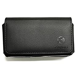 powerful Pouch Belt Clip Rotable Leather Holster for Droid Mini, Loop Pouch Pouch Protective Pouch …