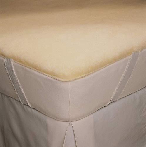 Hot Sale SnugFleece Elite Wool Mattress Pad - King