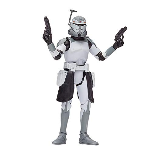 Star Wars The Vintage Collection Clone Commander Wolffe Toy, 3.75-Inch-Scale The Clone Wars Action Figure, Kids Ages 4 and Up