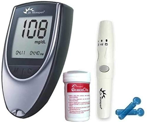 Dr. Morepen BG03 Glucometer with 50 Strips