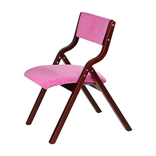 LLRDIAN Einfache Domäne Esszimmerstuhl Massivholzstuhl Bürostuhl Schreibtischstuhl einfache Moderne Café Tische und Stühle Nordic Retro-Stuhl Einfacher Klappstuhl