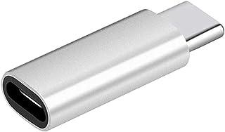 Haowen 2 st konvertering till USB-C-adapter 8 stift hona till typ-C hanadapter