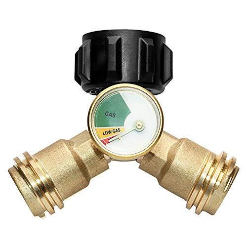 Huachaoxiang Conexión del Adaptador de Gas, Adaptador T Splitter T Splitter T...