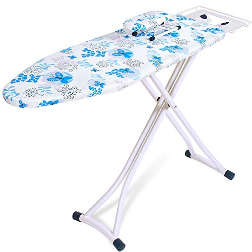 Check Out This ANFAY Ironing Board with Steam Iron Rack Anti-scalding Anti-staining Cotton Felt Adju...