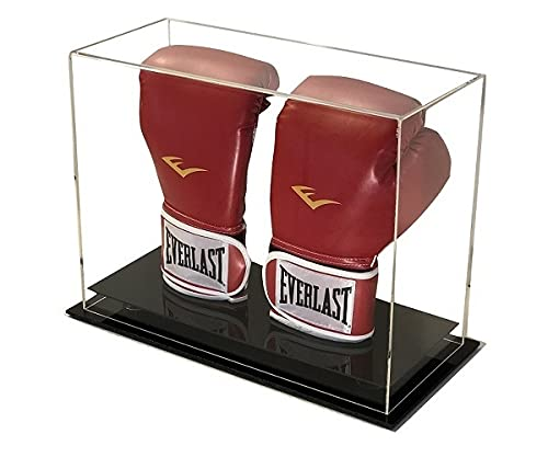 GameDay Display Acrylic Desk or Counter Top Vertical Double Boxing Glove Display Case