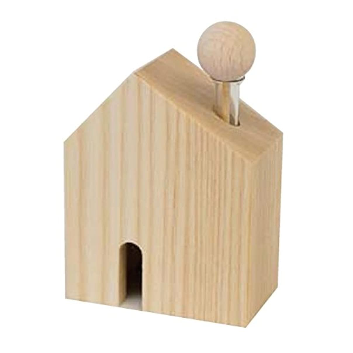 強風誰のコンパスカリス成城 アロマ芳香器 木のお家