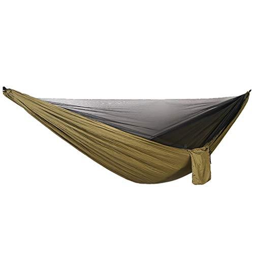 SuperSU Draussen Schlafen Tragbares Outdoor Camping Hängebett Mit Moskitonetz, Schnell Öffnender Hängematte Und Faltbarem Nylon-Schaukelbett