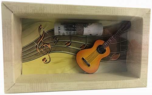 Geldgeschenk Gutschein Noten Gitarre Musikunterricht GS042