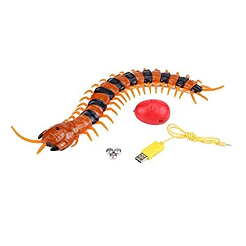 Plyisty Durable High Simulation Small Centipede Centipede Toy Rc Centipede Rc Toy for Kids