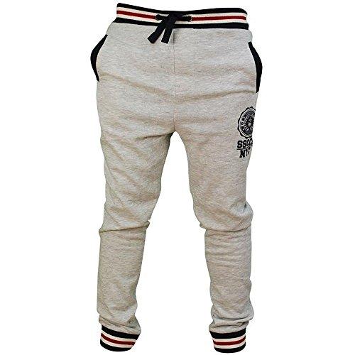 Soul Star - Pantalon de Sport - Homme Gris Gris - Gris - X-Large