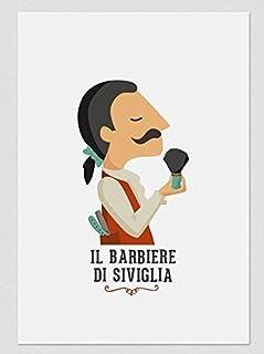 """Stampa"""" Il Barbiere di Siviglia."""" Disponibile in due misure: A4 / A3."""