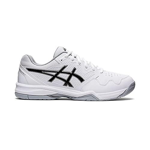 ASICS Gel-Dedicate 7, Zapatillas de Tenis Hombre, Blanco y Negro, 43.5 EU